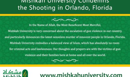 Mishkah Condemns The Violence In Florida