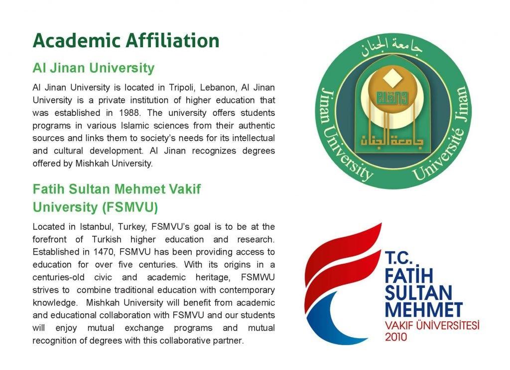 Academic Affiliation