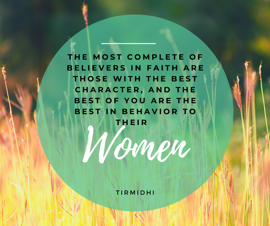 Tirmidhi Hadith on those who are best to their women