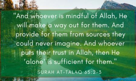 Allah Provides the Way